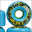 blue longboard wheels