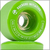 lime green longboarding wheels