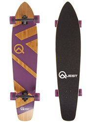 quest beginner longboard