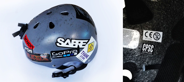 dual certified helmet with CPSC